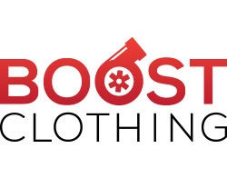 custom designed logo for boost clothing