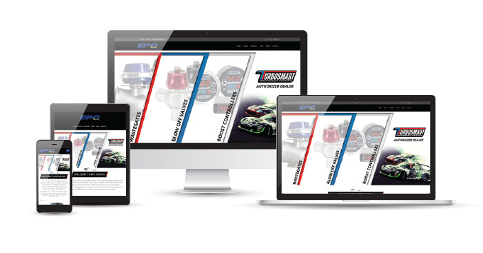 epc racing responsive design example
