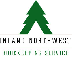 custom designed logo for inw bookkeeping