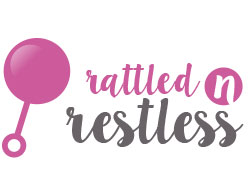 custom designed logo for rattled n restless